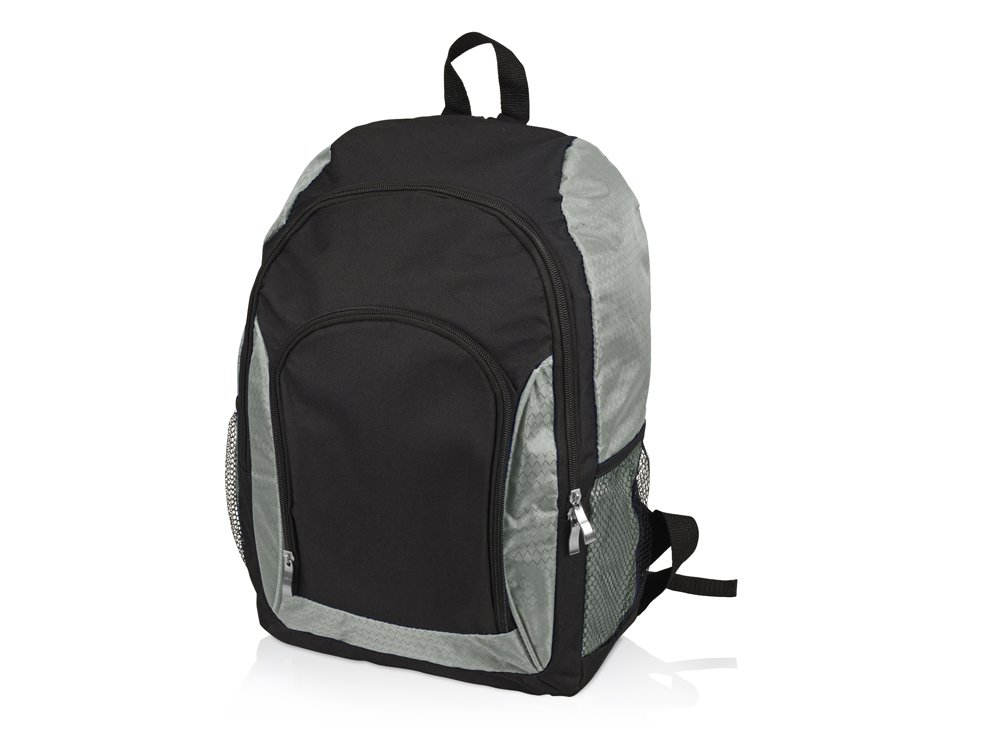 Рюкзак «Орегон», черный/серебристый