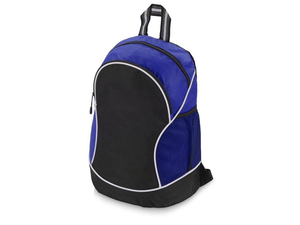 """Рюкзак """"Boomerang"""", черный/синий"""