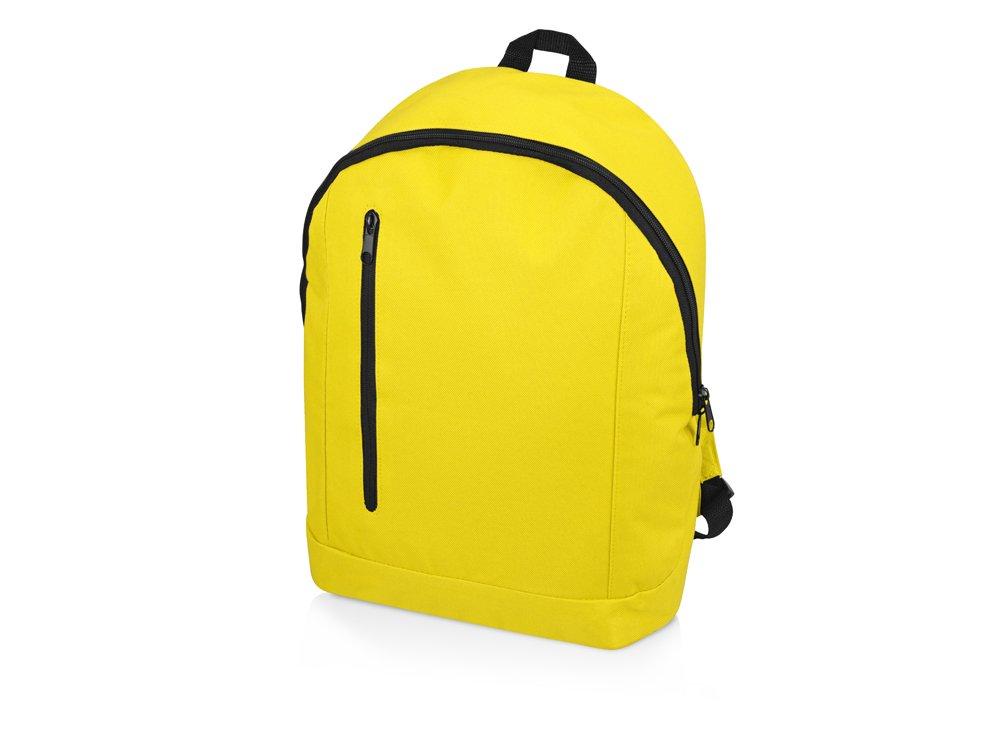 """Рюкзак """"Boulder"""", неоновый желтый"""