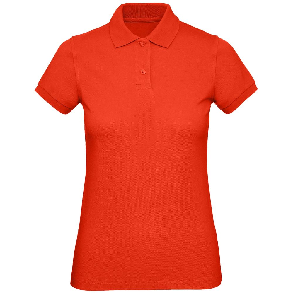 Рубашка поло женская Inspire, красная