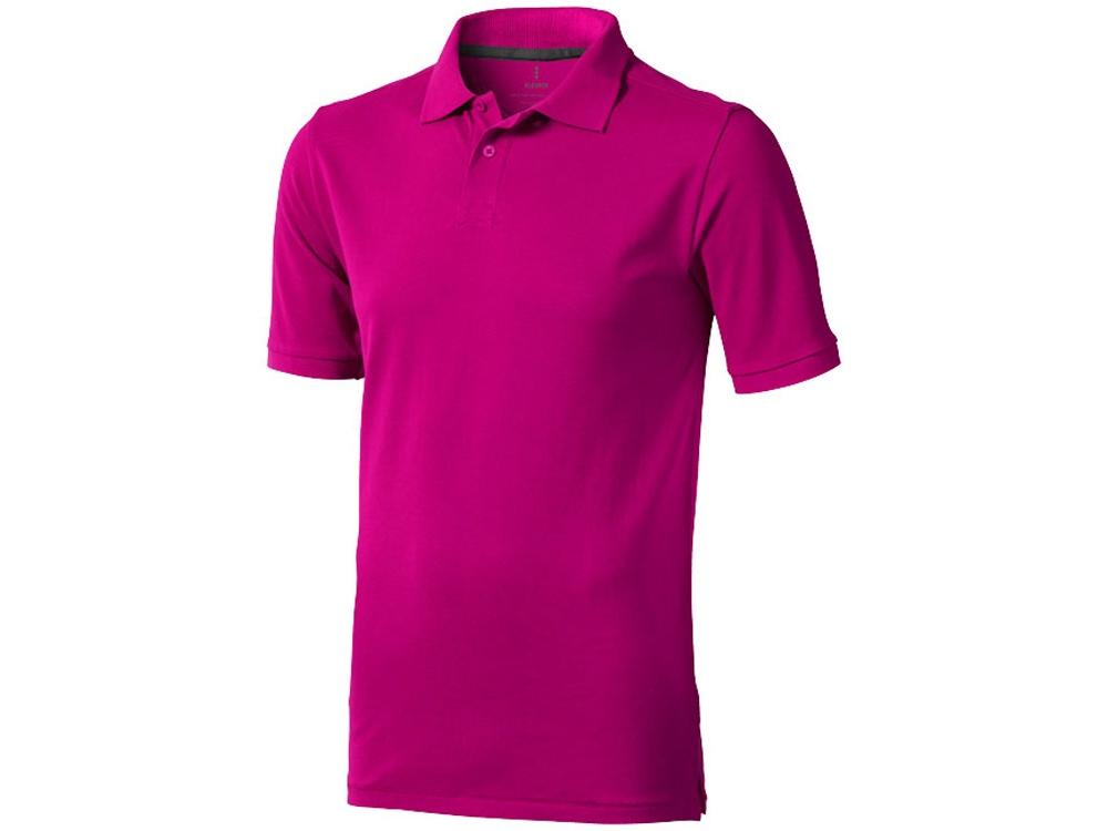 Рубашка поло Calgary мужская, розовый