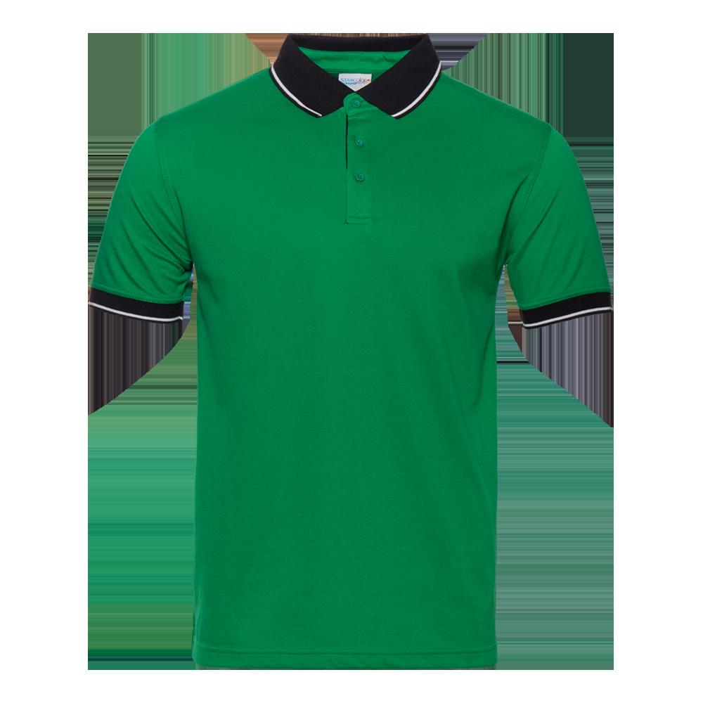 Рубашка поло мужская StanContrast 185 (04C), зеленая