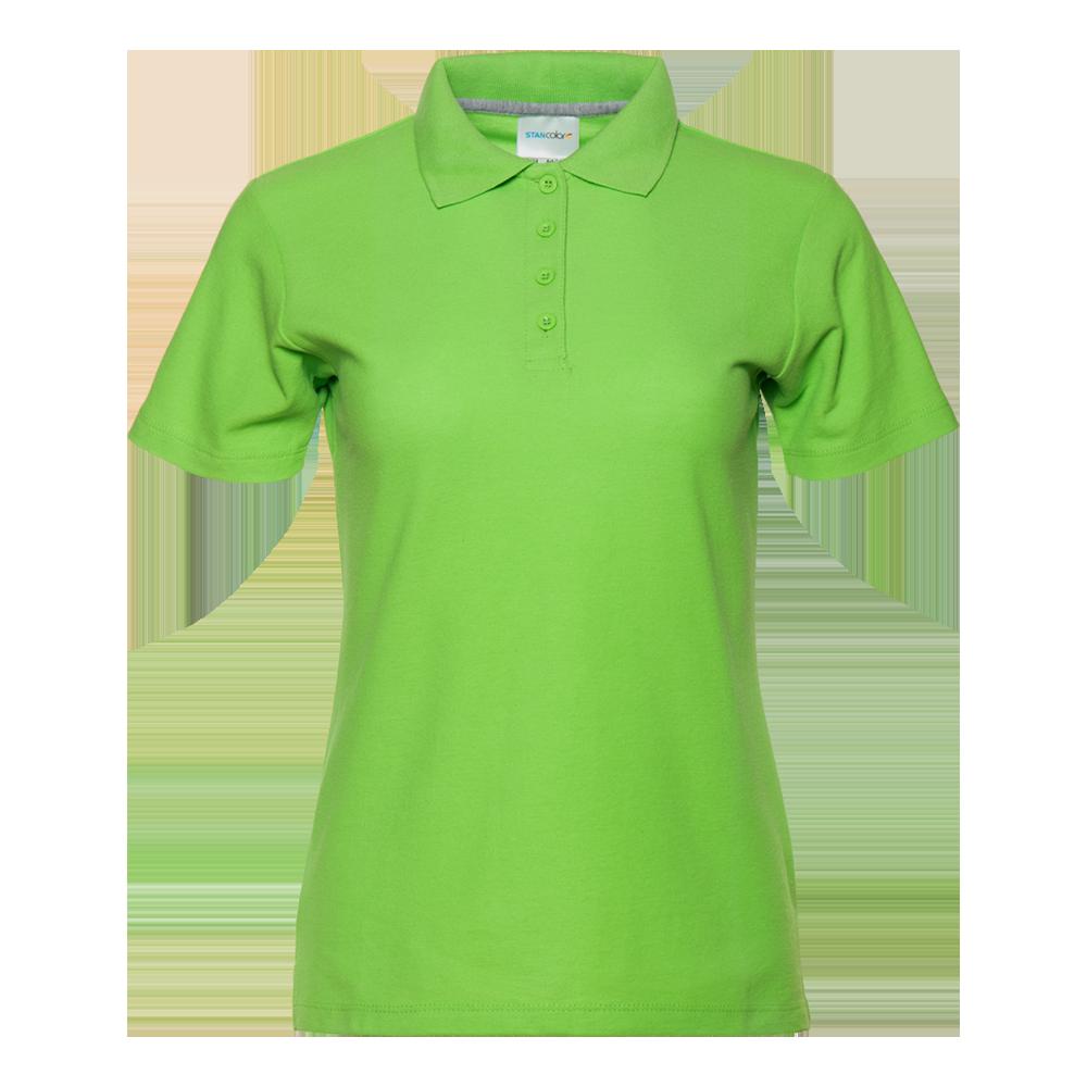 Рубашка поло женская StanWomen 185 (04WL), салатовая