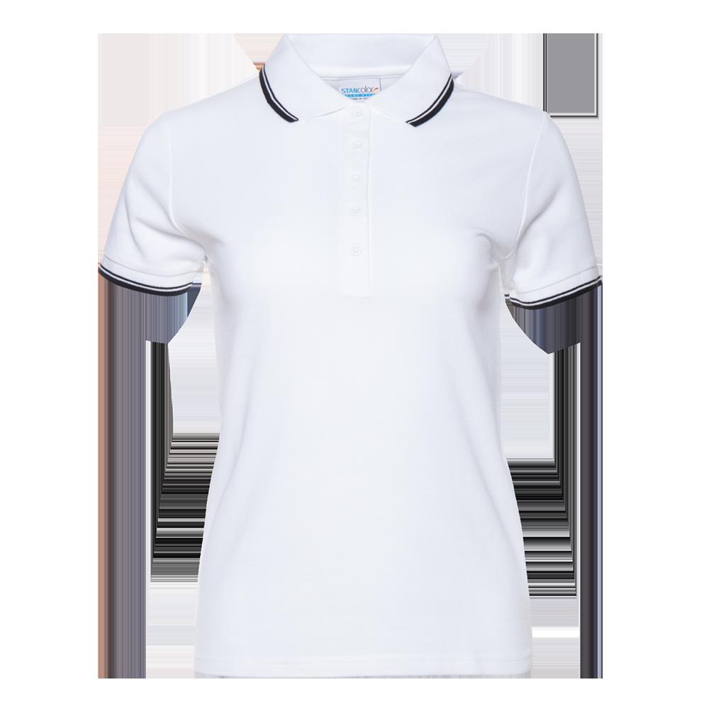 Рубашка поло женская StanTrophyWomen 185 (04BK), белая