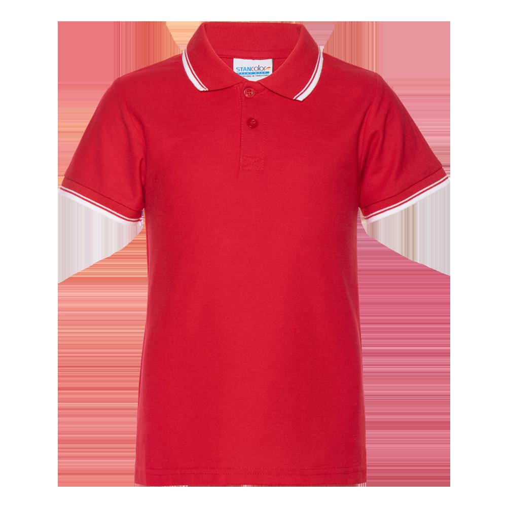 Рубашка поло детская StanTrophyJunior 185 (04TJ), красная
