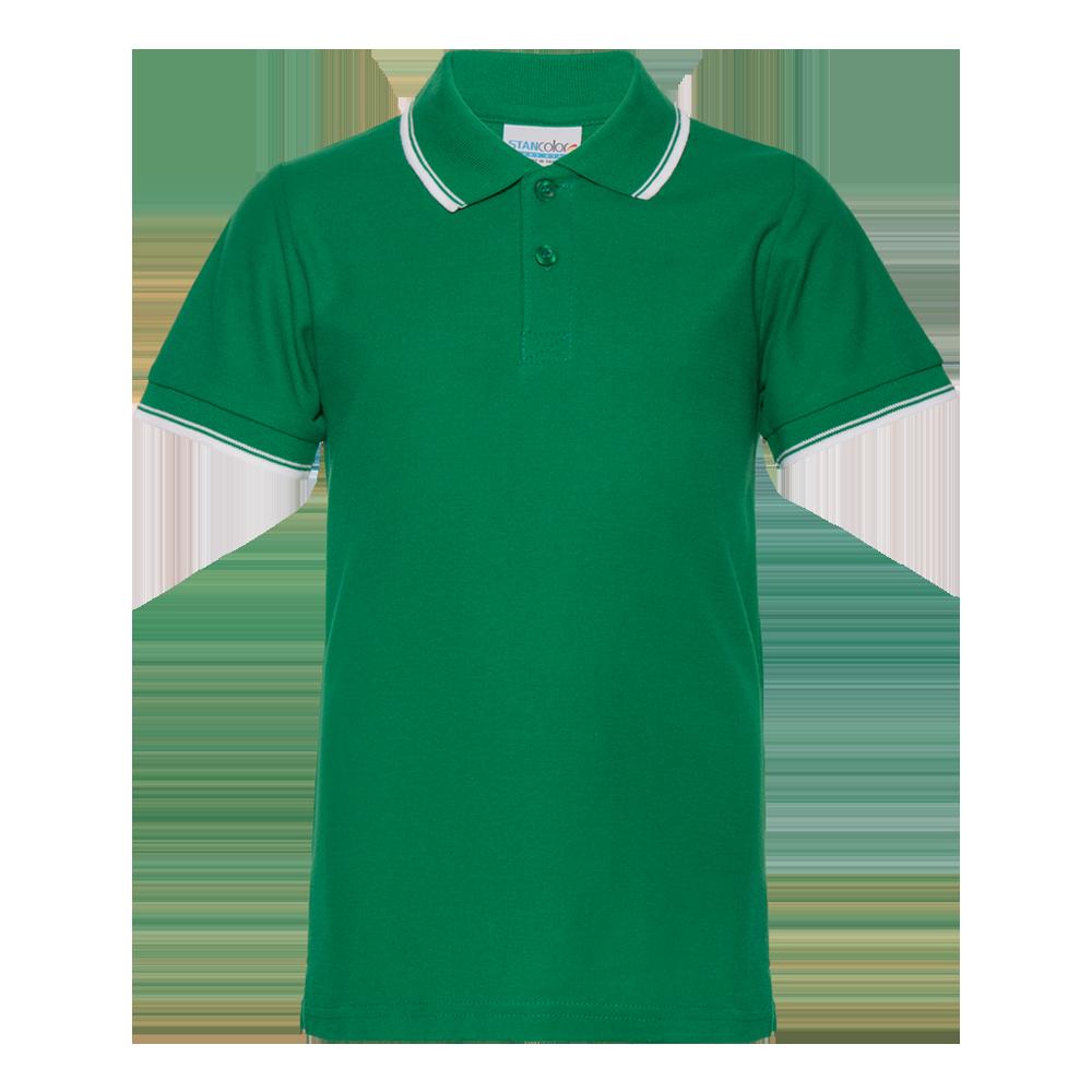 Рубашка поло детская StanTrophyJunior 185 (04TJ), зеленая