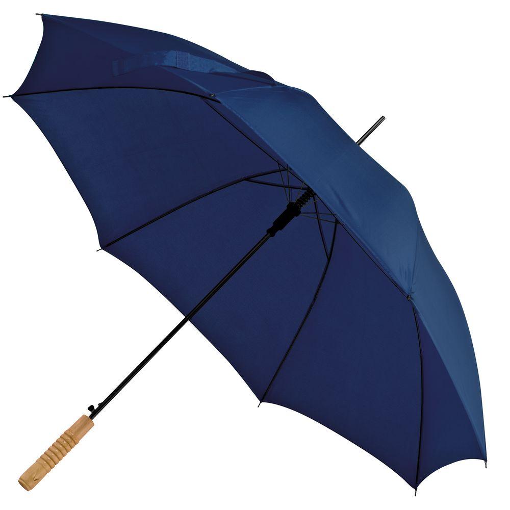 Зонт-трость Lido, темно-синий