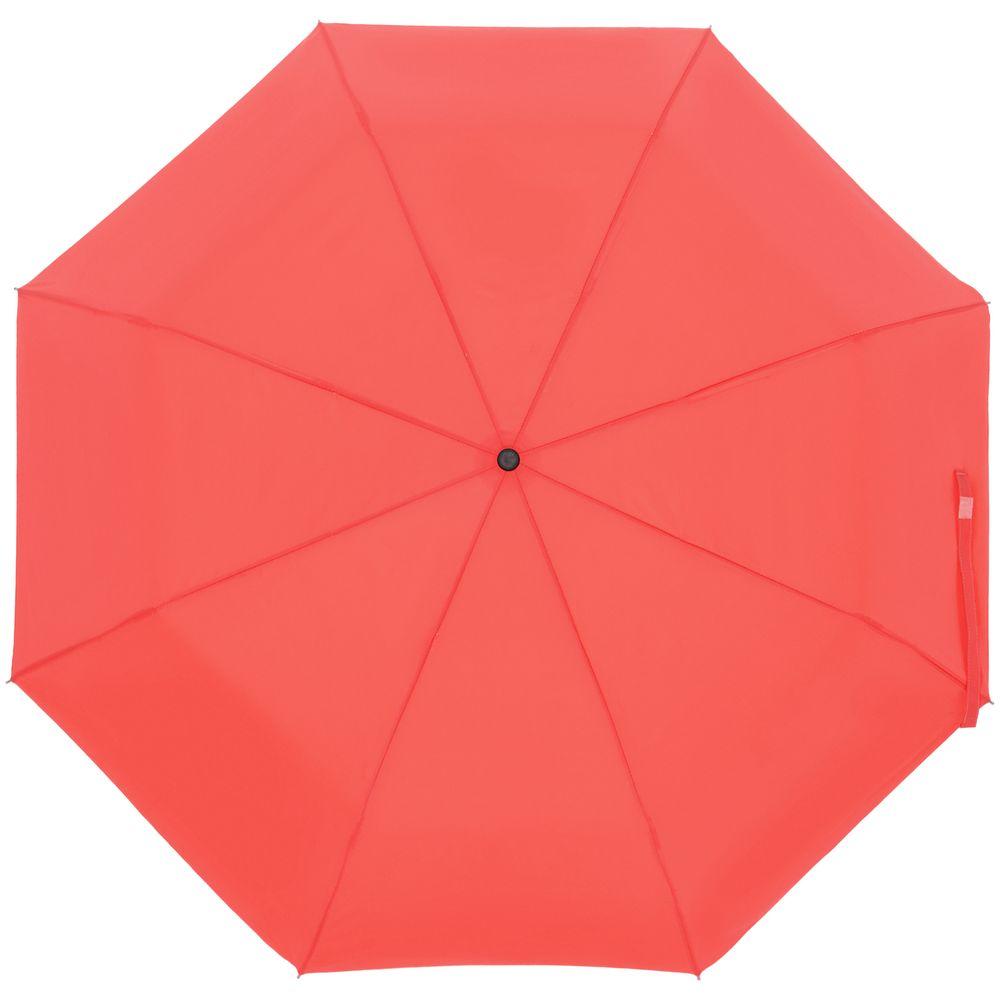 Зонт складной Show Up со светоотражающим куполом, красный